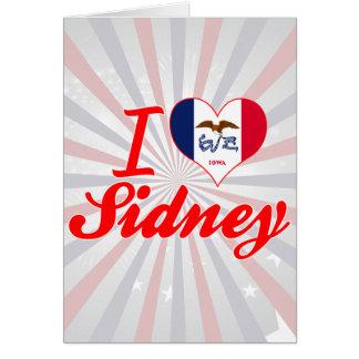 I Love Sidney, Iowa Cards