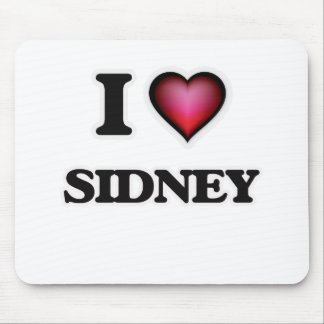 I Love Sidney Mouse Pad