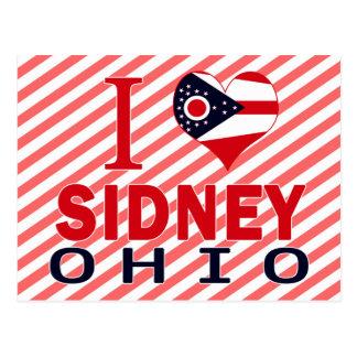 I love Sidney Ohio Post Cards