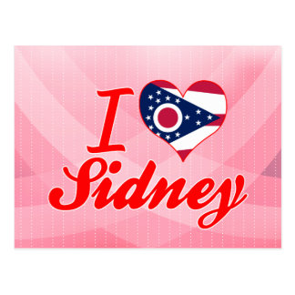 I Love Sidney, Ohio Post Card