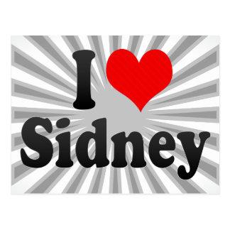 I love Sidney Postcard