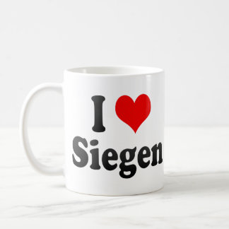 I Love Siegen, Germany. Ich Liebe Siegen, Germany Mug