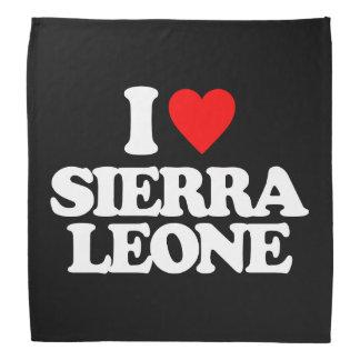 I LOVE SIERRA LEONE BANDANA