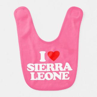 I LOVE SIERRA LEONE BIB