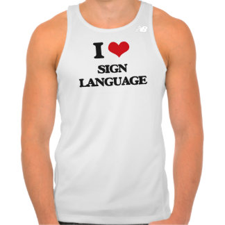 I Love Sign Language T Shirt