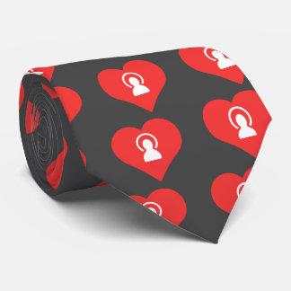I Love Silhouettes Tie