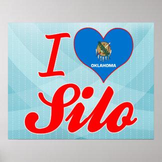 I Love Silo Oklahoma Poster