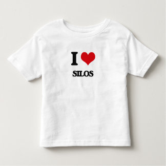 I Love Silos Tee Shirts