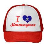 I Love Simmesport, Louisiana Cap