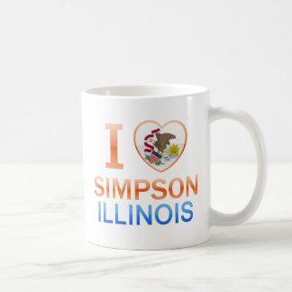 I Love Simpson IL Coffee Mug