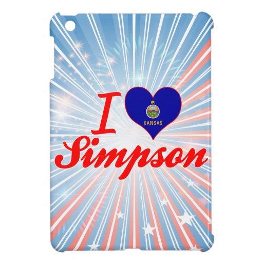 I Love Simpson, Kansas iPad Mini Covers