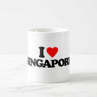 I LOVE SINGAPORE COFFEE MUG