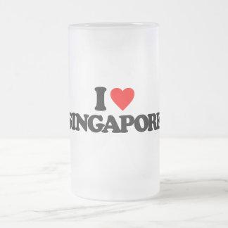 I LOVE SINGAPORE BEER MUG