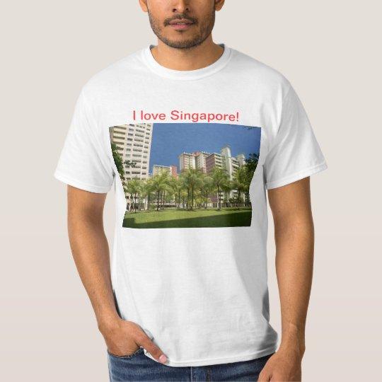 I love Singapore T-Shirt! T-Shirt