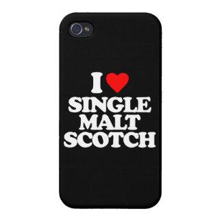 I LOVE SINGLE MALT SCOTCH CASE FOR iPhone 4
