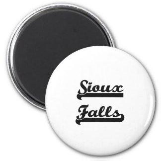 I love Sioux Falls South Dakota Classic Design 6 Cm Round Magnet