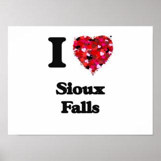 I love Sioux Falls South Dakota Poster