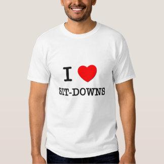 I Love Sit-Downs Tees