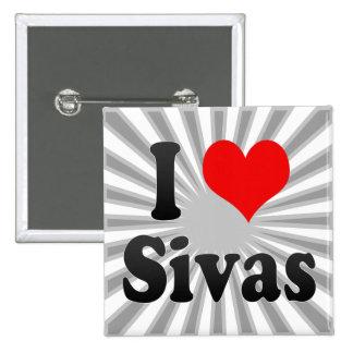 I Love Sivas, Turkey Pin