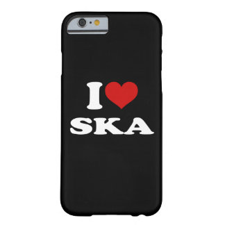 I Love Ska iPhone 6/6s Barely There iPhone 6 Case