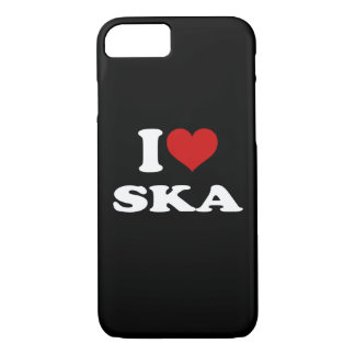 I Love Ska iPhone 7 Case