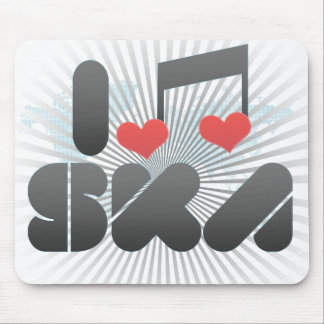 I Love Ska Mouse Pad