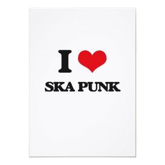 I Love SKA PUNK Invitation Cards