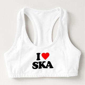 I LOVE SKA SPORTS BRA