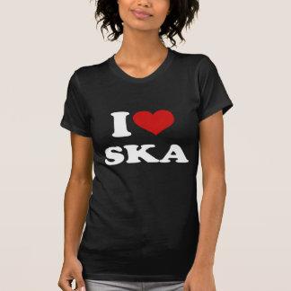 I Love Ska Tshirt