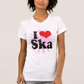 I Love Ska Tee Shirts