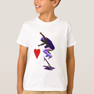 I love Skateboarding Vector T-Shirt