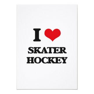 I Love Skater Hockey Custom Announcement