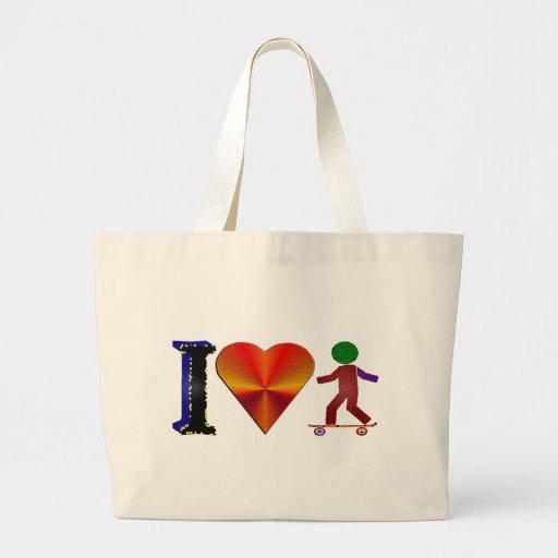 I Love Skaters Bags