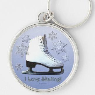 I Love Skating Key Chains