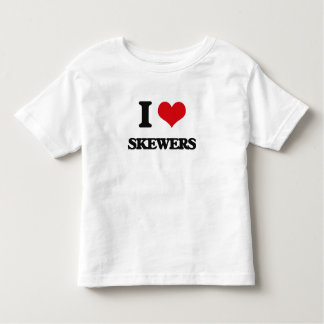 I Love Skewers Tees
