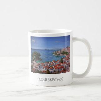 'I LOVE SKIATHOS' mug