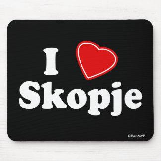 I Love Skopje Mouse Pad