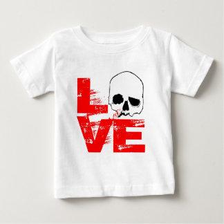 I love skull print baby T-Shirt