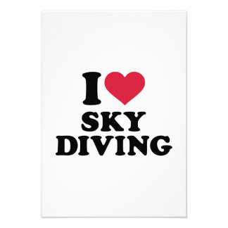 I love Skydiving Announcement