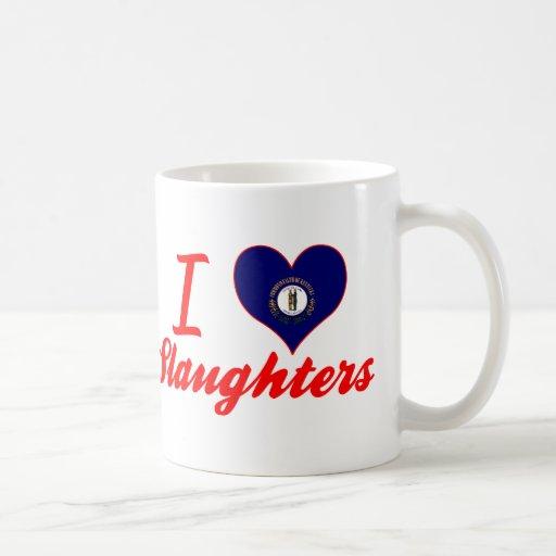 I Love Slaughters, Kentucky Coffee Mug
