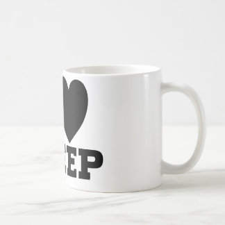 I Love Sleep Funny Design Coffee Mug