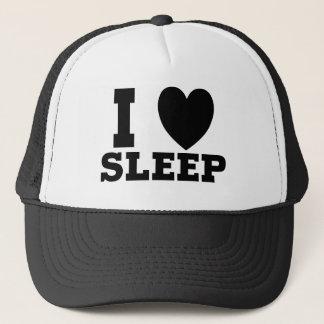 I Love Sleep Funny Design Trucker Hat