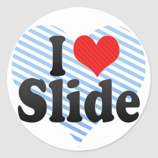 I Love Slide Sticker