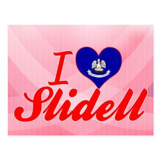 I Love Slidell, Louisiana Postcard