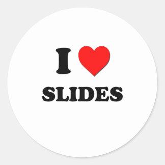 I love Slides Stickers