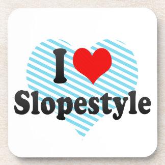 I love Slopestyle Beverage Coaster