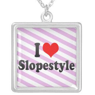 I love Slopestyle Custom Necklace