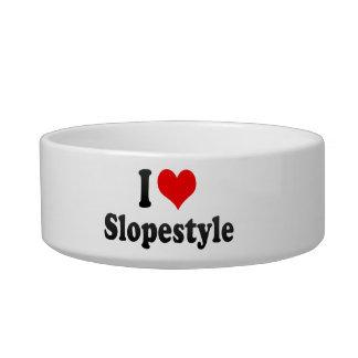 I love Slopestyle Cat Food Bowls