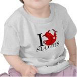I Love Sloths Baby's Tshirt
