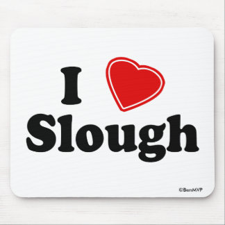 I Love Slough Mouse Mat